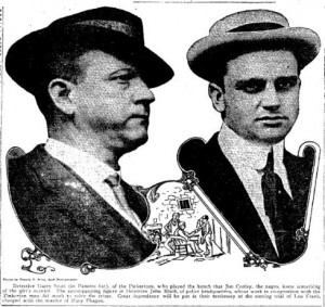 Detectives John Black and Harry Scott